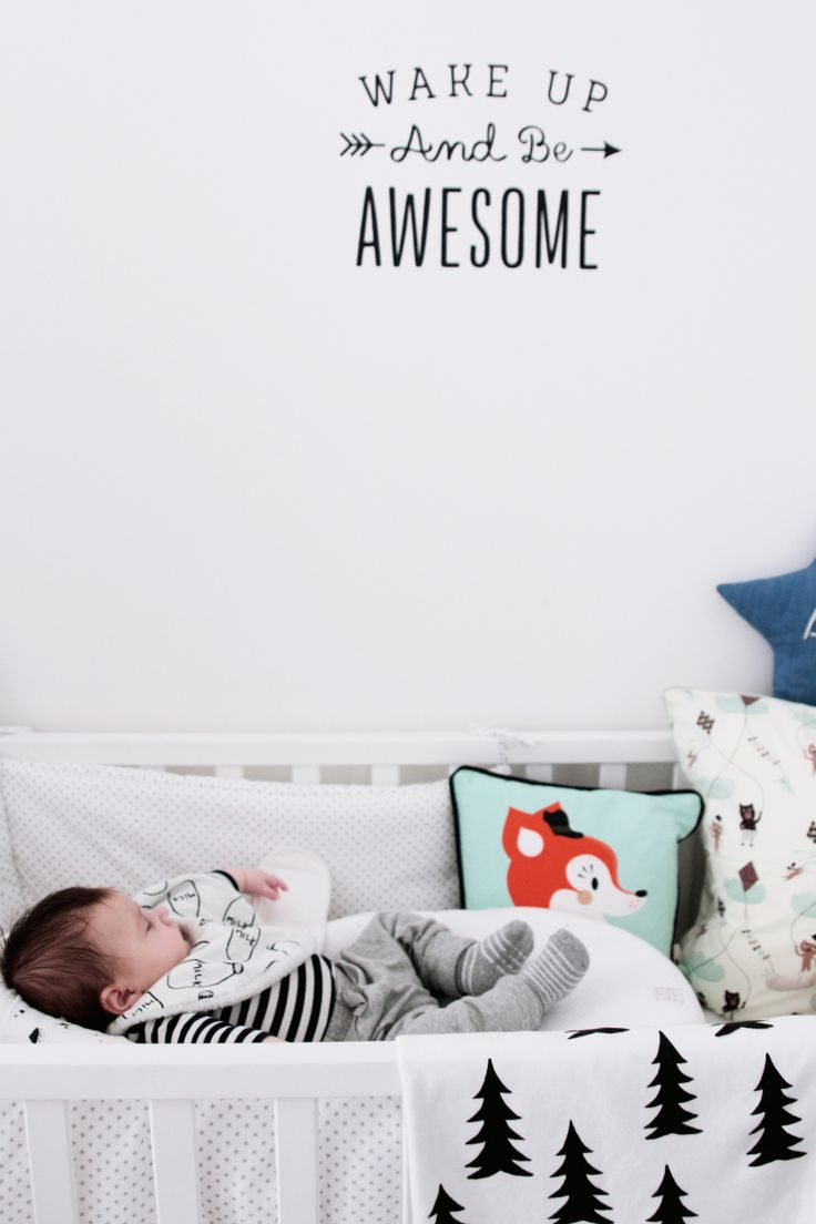 7 id es pour d corer avec des mots elephant in the room for Chambre bebe cocktail scandinave