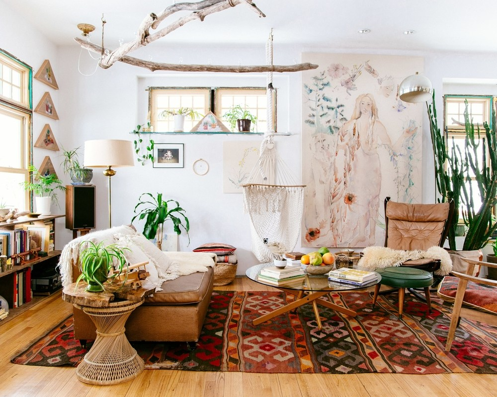 Les 10 commandements d une d co boho elephant in the room for Deco appartement instagram
