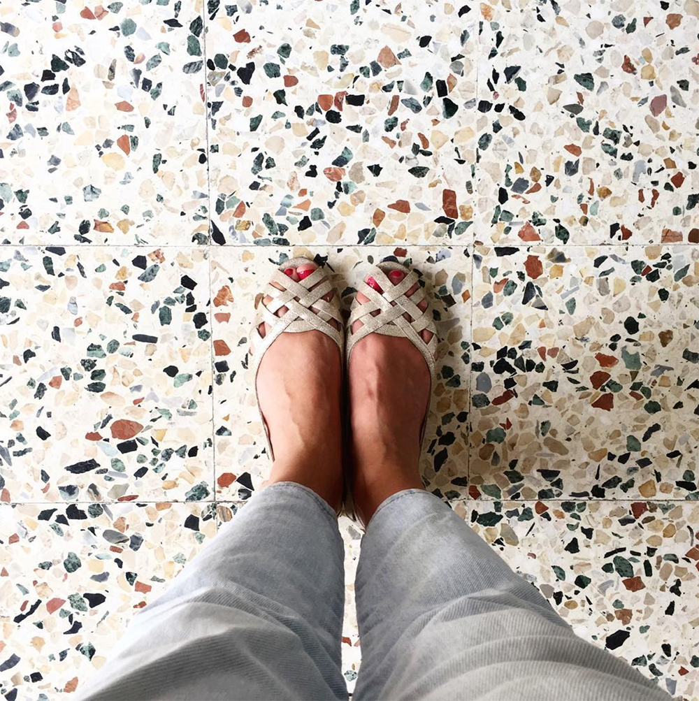 Une touche de terrazzo à la maison | elephant in the room