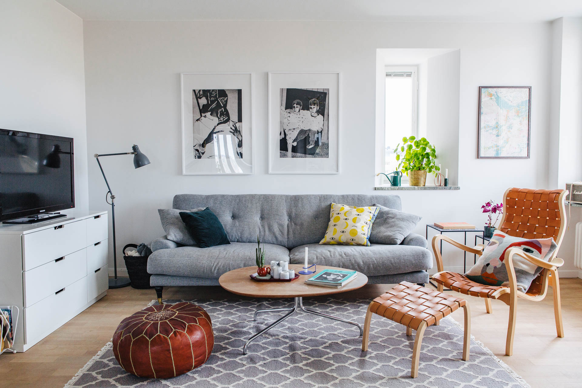 Home Tour suédois | elephant in the room