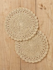 2 sets de table crochet, Cyrillus - 19,90€