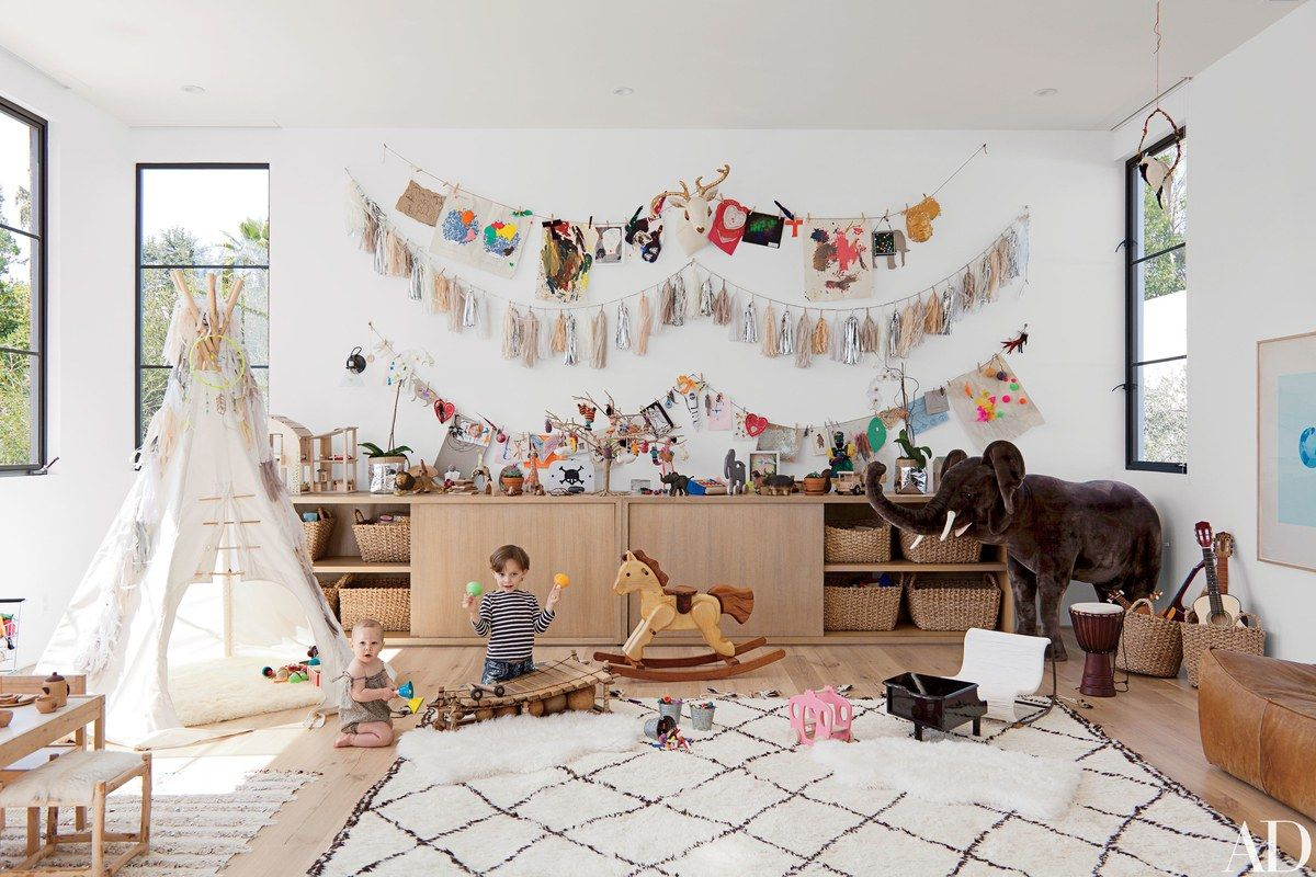 Ambiance boh me dans une chambre d enfant elephant in the room - Ambiance chambre fille ...